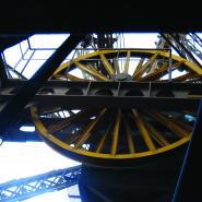 Detail Eiffelovy věže