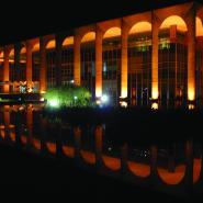 Budova parlamentu ve městě Brazília