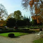 zahrada Letohrádku královny Anny, Praha