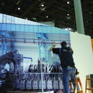 Instalace na výstavě EMO