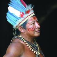 Načelník indianů na amazonce