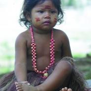 Indiánské dítě
