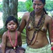 Indiánská rodina